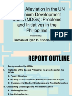 Millenium Developmental Goals Emman Francisco