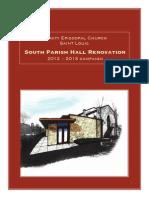 Trinity Episcopal Church South Parish Hall Campaign Brochure - St. Louis