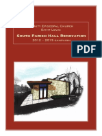 Trinity Episcopal Church South Parish Hall Campaign Brochure - St. Louis