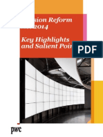 The New Pension Reform Act 2014 Key Highlights Salient Points 1