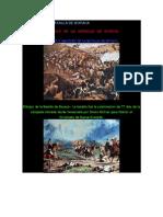 Dibujos de La Batalla de Boyaca