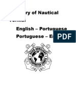 English Portuguese Glossary Nautical Terms