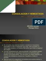 COAGULACION Y HEMOSTASIA.ppt