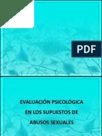 Evaluacción psicológica en los supuestos de abusos sexuales.pptx