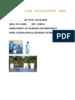 Busineess Environment Assignmant,Ashish Kulkarni,Rool No- 012091
