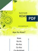 KOAS - Quick Quide