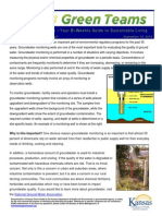 What is Groundwater Monitoring?