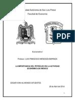 Econometria petroleo.docx