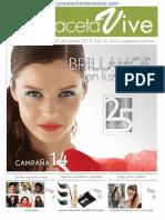Gaceta Vive Yves Rocher Campaña 14 2014