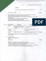 Hl Test Mark Scheme