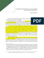 O problema religioso - Durkheim.pdf