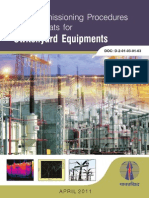 Pre Commissioning Procedures and Formats for Switchyard Equipments