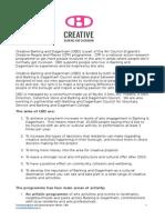Creative Barking and Dagenham Communications and Administration Coordinator JD FINAL