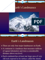 Earth's Landmasses