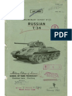 Preliminary Report No. 20 - Russian T-34