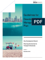 Dewatering Management Guidelines