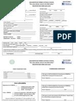 registration forms revised