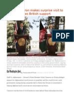 David Cameron makes surprise visit to Kabul, pledges British support.odt