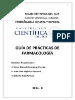 GUÍA DE PRÁCTICAS DE FARMACOLOGÍA 2014-II.pdf