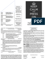 Bulletin October 5 2014