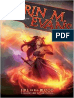 Fire in the Blood by Erin M. Evans