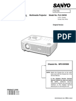projector repair  guide PLCSW30