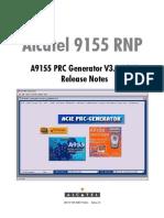 A9155 PRCGen V3.1 B267 ReleaseNotes