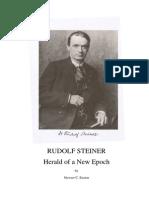 Stewart C. Easton - Rudolf Steiner - Herald of a New Epoch (1980)