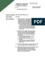 Dorner Autopsy Report
