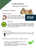 projet journal de rome republique pdf