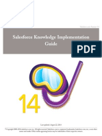 Salesforce Knowledge Implementation Guide