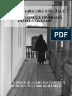 Grigorie Dascalul - Sfatuire Despre Spovedanie