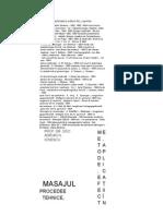 Ionescu, N Adrian, Masajul