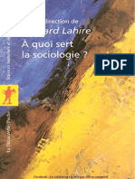 A quoi sert la sociologie - Lahire Bernard.pdf