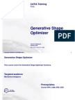 Generative Shape Optimizer
