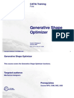 Generative Shape Optimizer