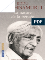 La Nature de la Pensee - Jiddu Krishnamurti.pdf
