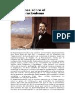 Reflexiones Sobre El Regeneracionismo