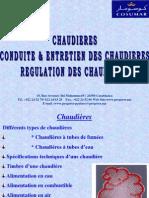 CONDUITE ENTRETIEN DES CHAUDIERES REGULATION DE.ppt