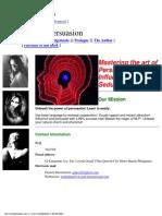 Persuasion PHD