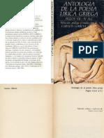 Garcia Gual Carlos - Antologia de la Poesía Lírica Griega.pdf