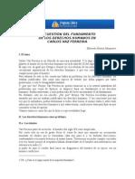 Alvarez_LA CUESTIÓN DEL FUNDAMENTO DE LOS DERECHOS HUMANOS EN VAZ FERREIRA.doc