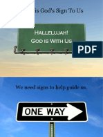 Jesus is God's Sign to Us