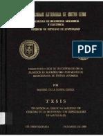 Characterization DE Precipitates Alumino 6061