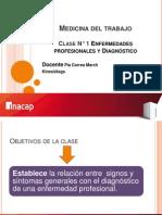 Clase N° 1 Enfermedades profesionales y diagnostico.ppt