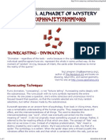 7 Runecasting - Runic Divination