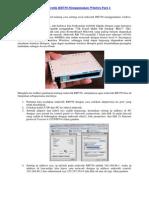 Cara Setting Awal Mikrotik RB750