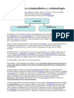DIFERENCIA ENTRE CRIMINALISTICA Y CRIMINOLOGIA.doc