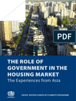 the Role of Government in the Housing Market. The Eexperiences from Asia