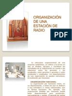 Organizacion estacion de Radio